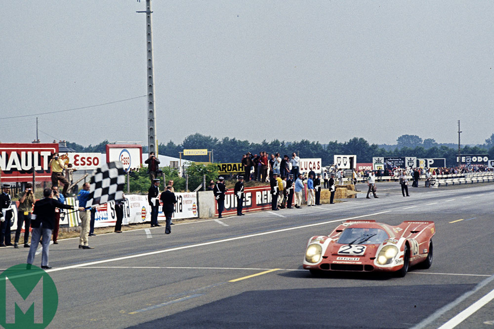 Porsche takes victory at Le Mans for the first time in 1970