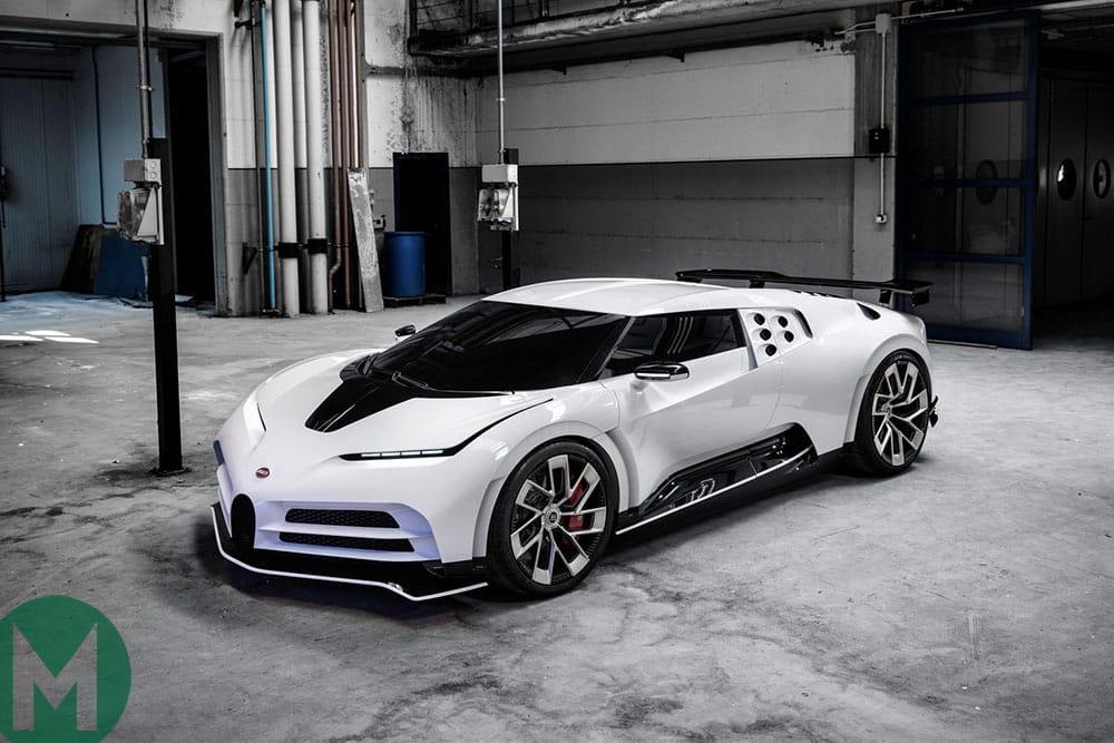The Bugatti Centodieci