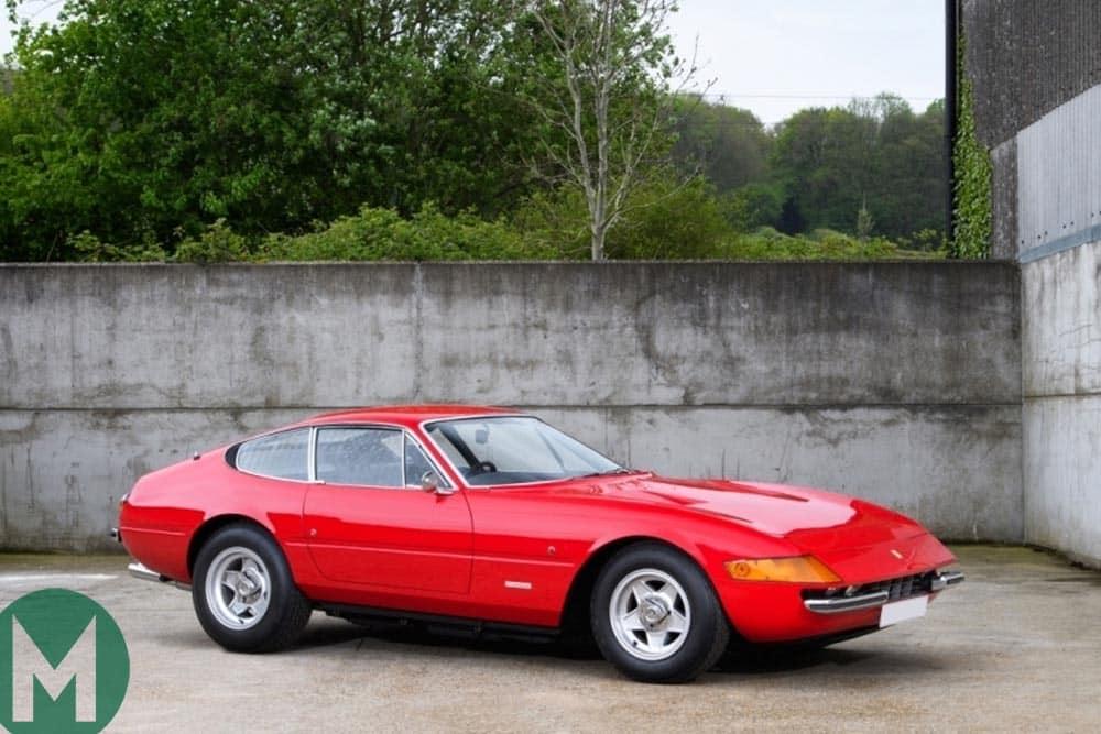 Ferrari Daytona formerly owned by Sir Elton John