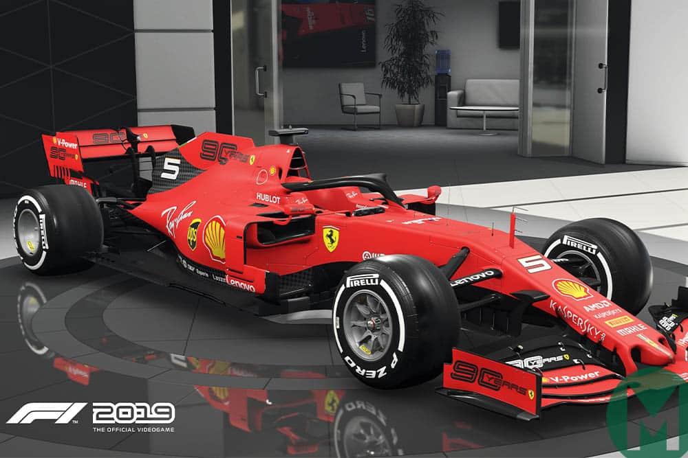 F1 2019 Game updates - Ferrari SF90