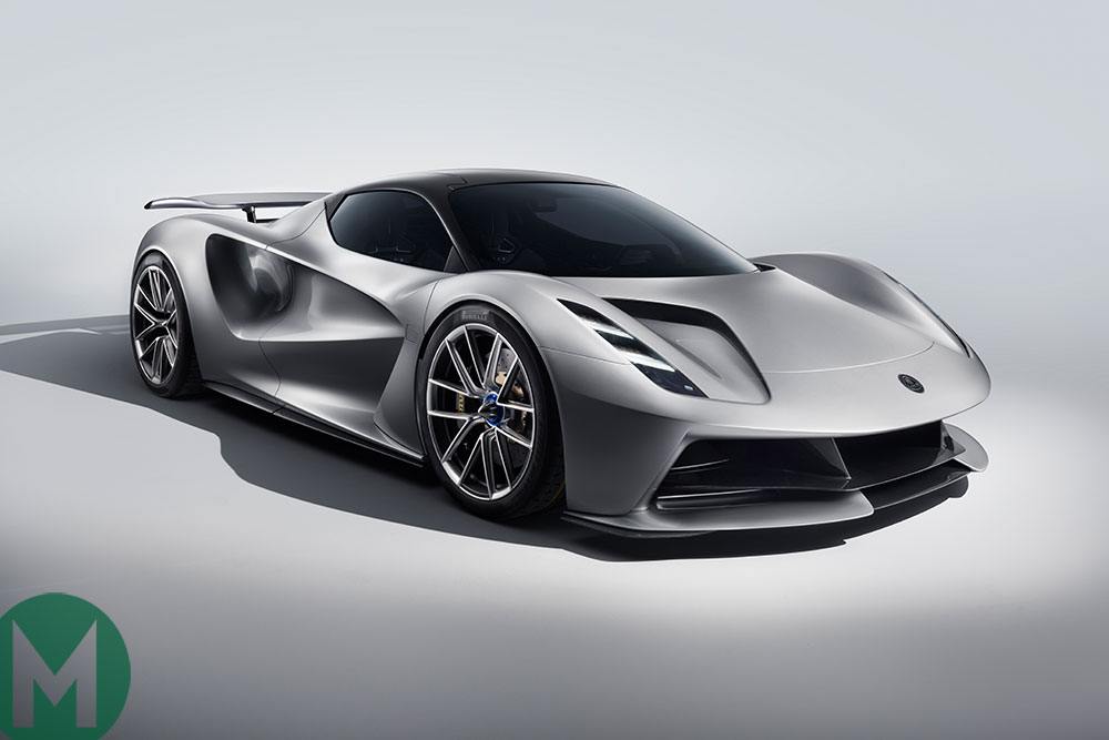 The Lotus Evija all-electric hypercar will be unveiled at the event