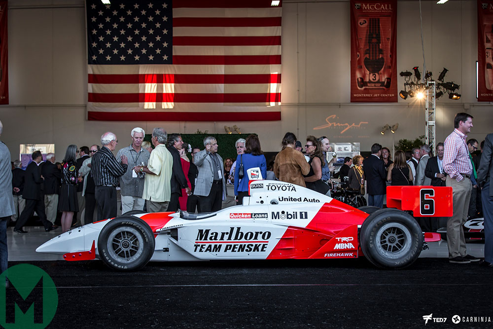 Team Penske's Indianapolis 500 racer at McCall's Motorworks Revival