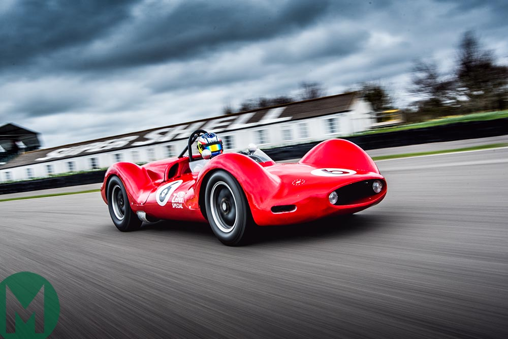 The Zerex Special is put through its paces on track