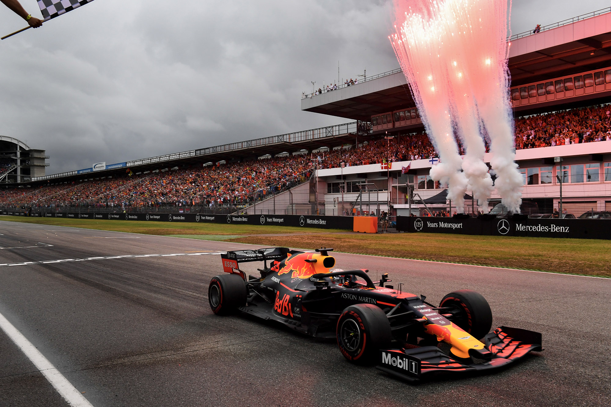 Max Verstappen wins the 2019 German Grand Prix at Hockenheim